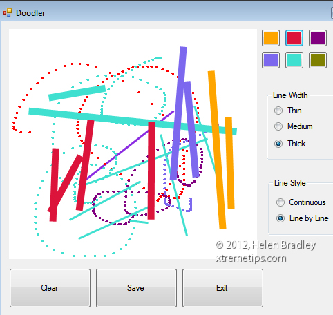 doodle program starter