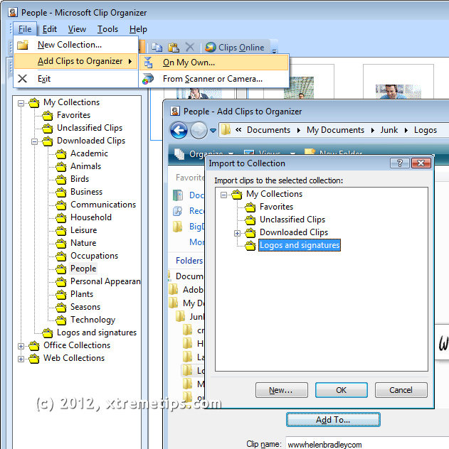 import clip art into word 2010 - photo #18